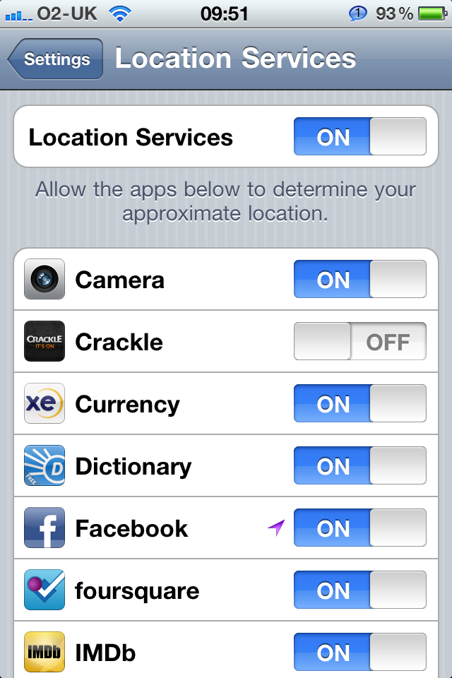 Daily Tip How To Turn Off Locations Services For Iphone Ipad Imore