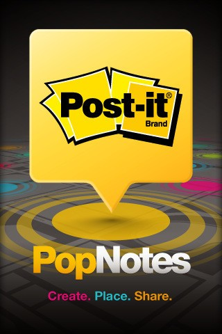 Leave sticky notes places with Post-it® PopNotes for ...