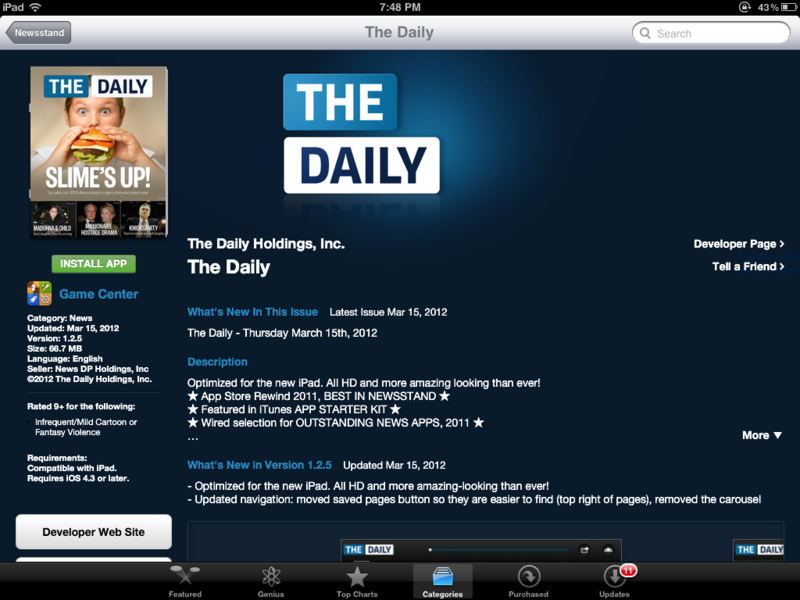 How to confirm newsstand subscriptions from your iPad