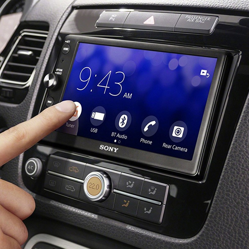 Grab Sony's CarPlay and Android Auto head unit for just under $300