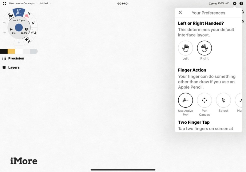 Adonit Note+ Stylus and Concepts app