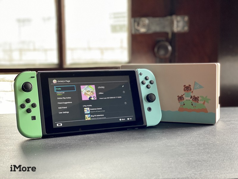 Animal Crossing New Horizons Switch Dock Side By Side