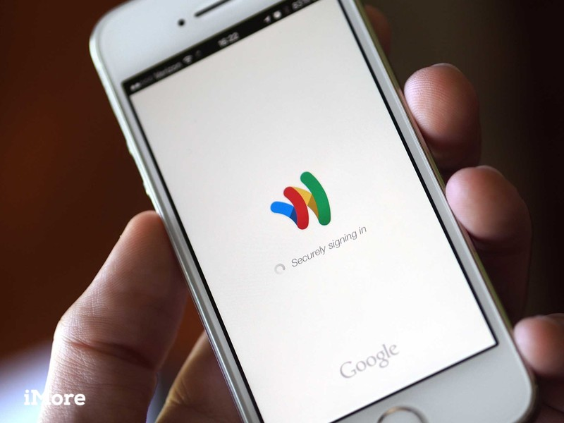 Google Wallet on an iPhone 5s