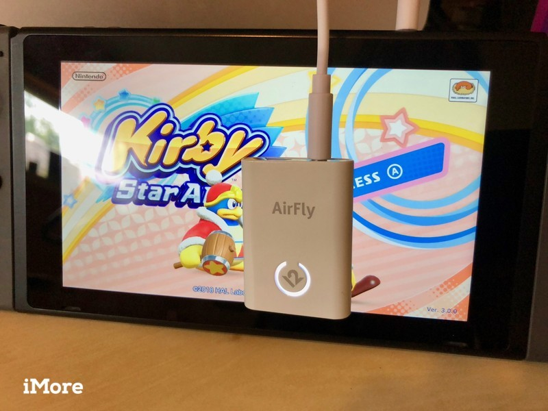AirFly with Nintendo Switch