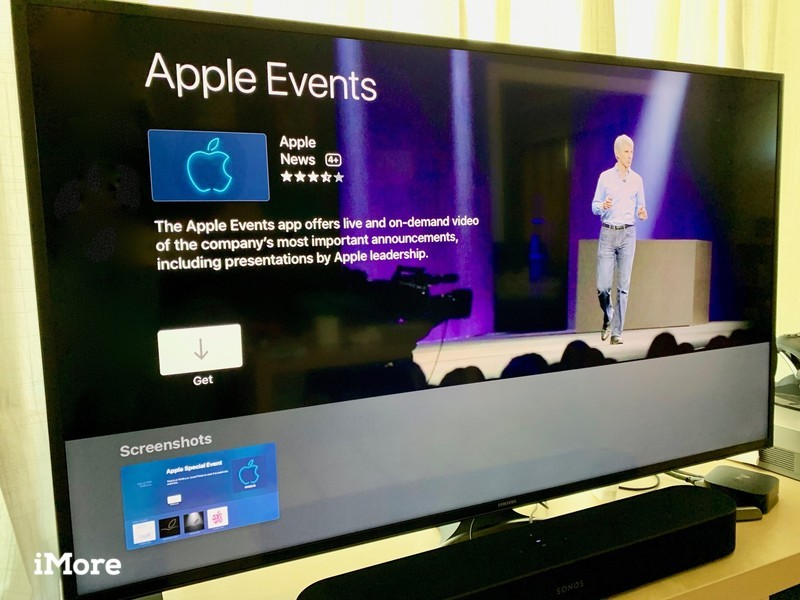 Apple Events on Apple TV