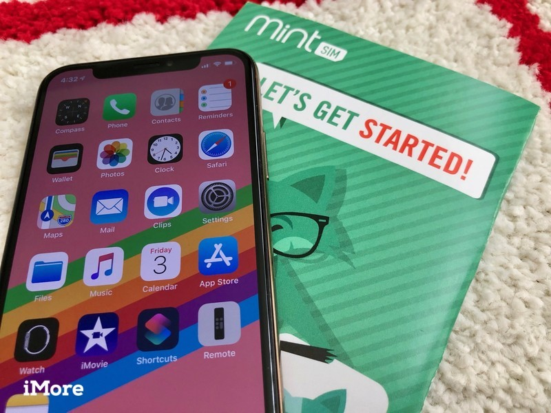 Mint Mobile on iPhone