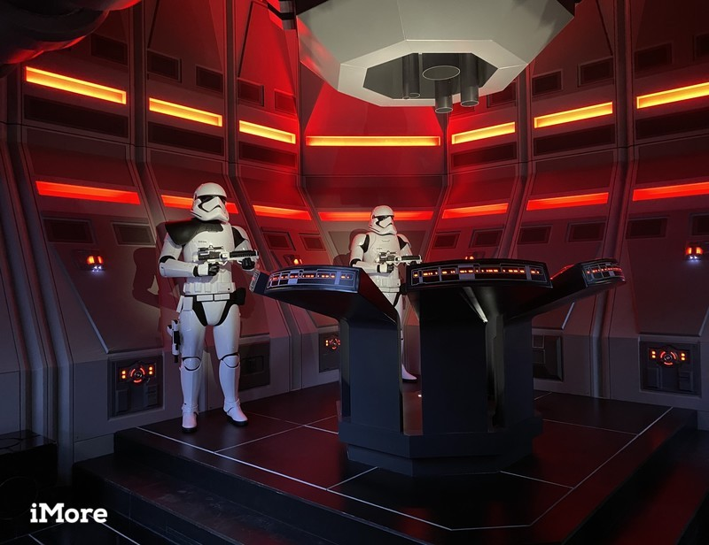 Stormtroopers in Rise of the Resistance at console