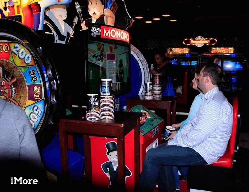 Dave And Busters Arcade