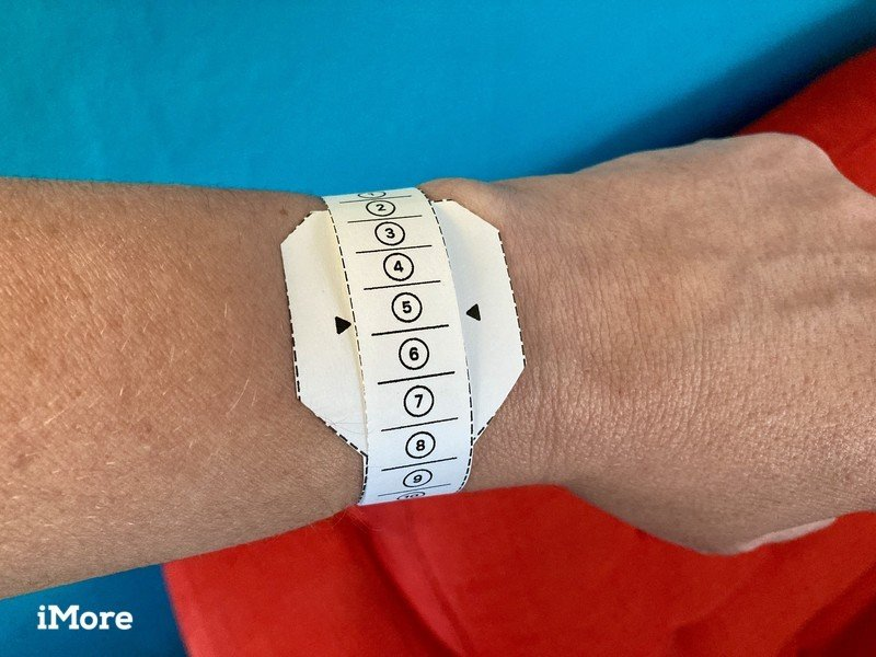 How To Measure Your Wrist for an Apple Watch Band using Apple's printable tool