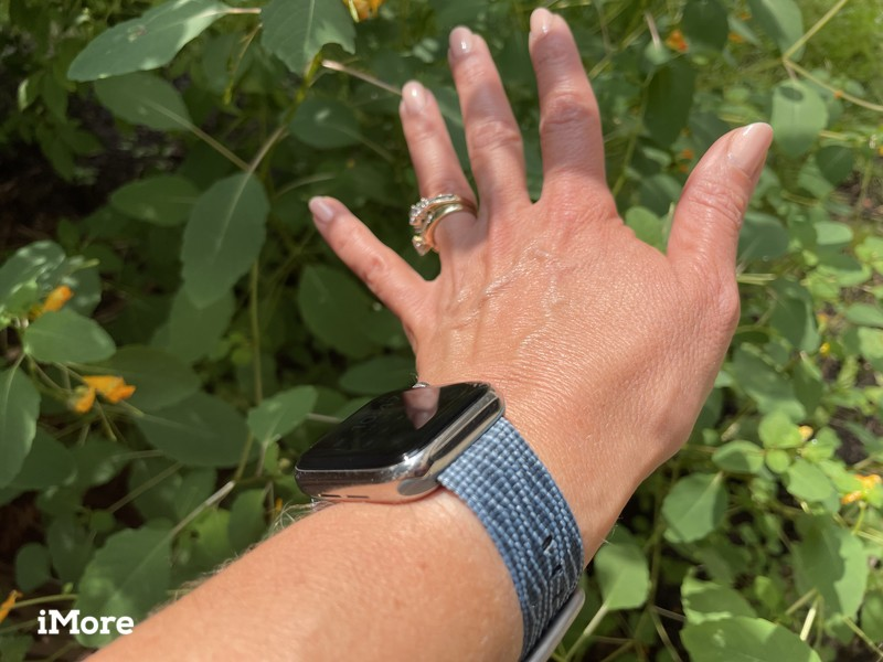 Lifeproof Eco Friendly Band For Apple Watch Lifestyle On Wrist And Hand