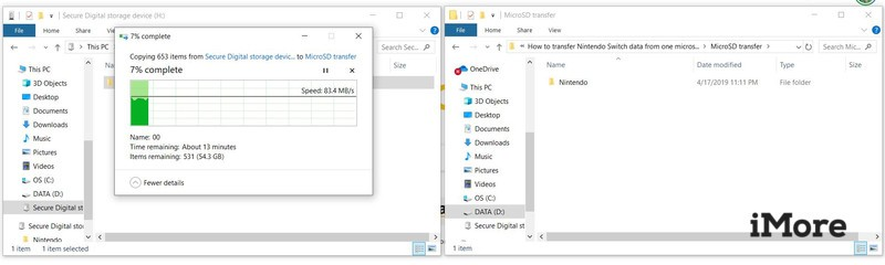 How To Transfer From One Microsd To Another