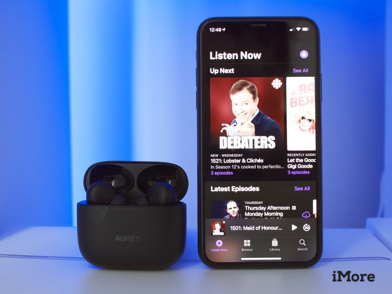Podcasts app in iOS14