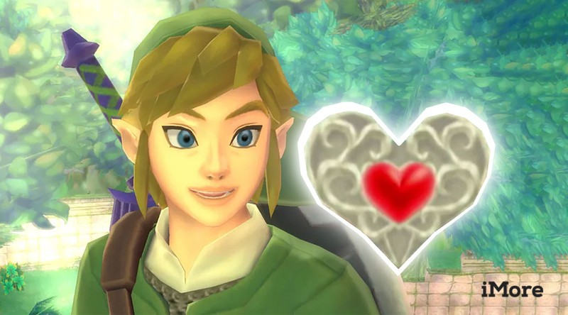 Link Heart Pieces