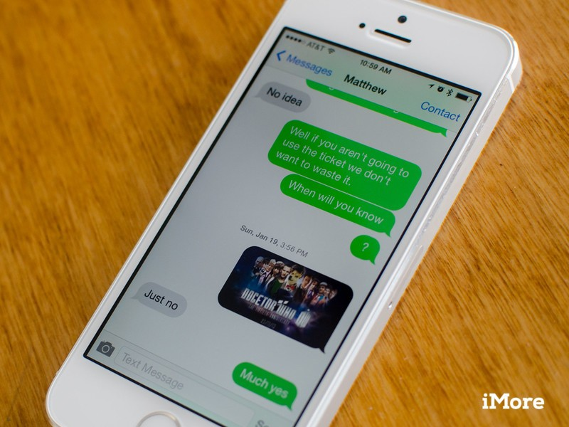 How to send texts using iMessage