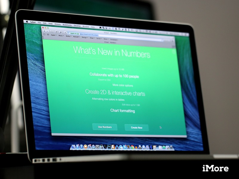 iWork for iCloud receives a huge upgrade that allows for increased collaboration, new features, and larger file sizes.
