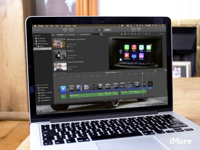 iMovie for Mac scores integration with the Photos app in latest update