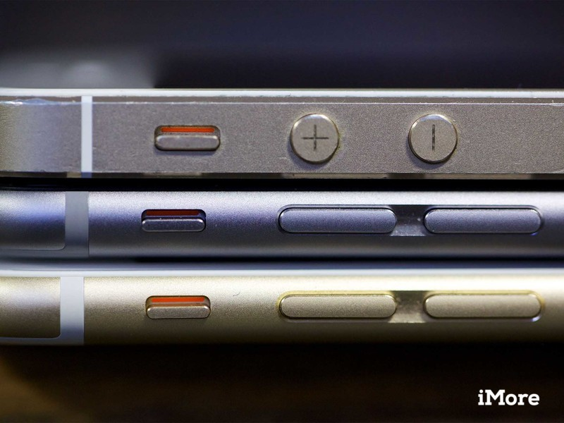 iPhone 5s and iPhone 6