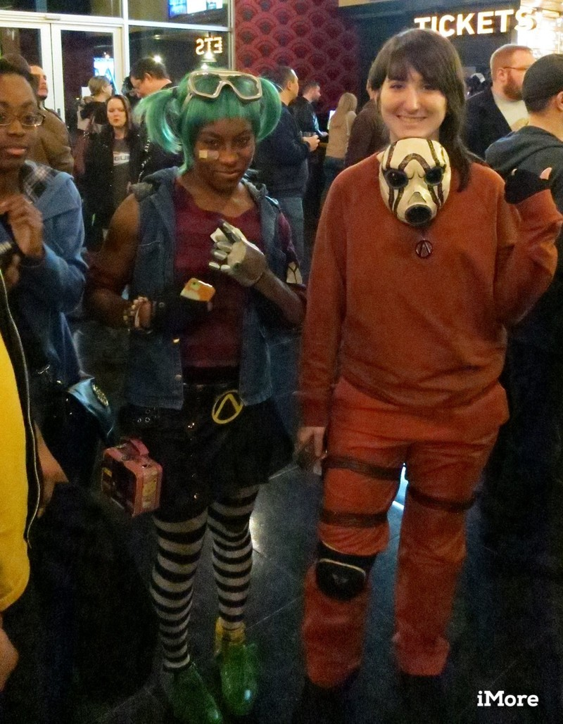 Tales from the Borderlands premiere cosplayers