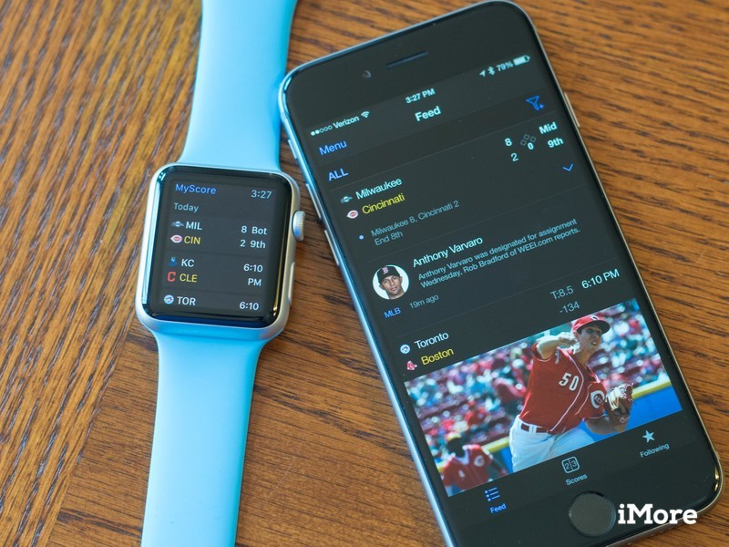 theScore brings Apple Watch support to its main app, Dota 2 live scores to eSports app
