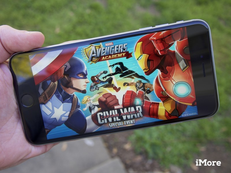 A Civil War breaks out in Marvel Avengers Academy