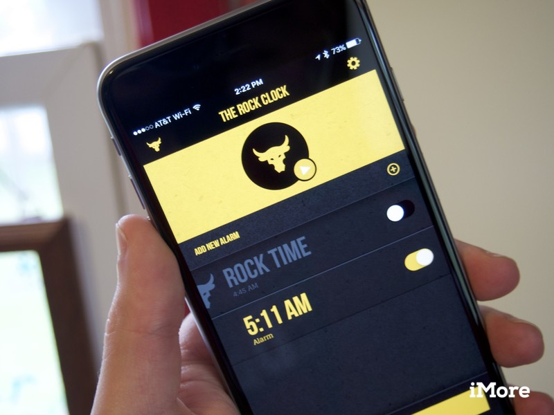 The Rock's new motivational alarm app will help you crush your day