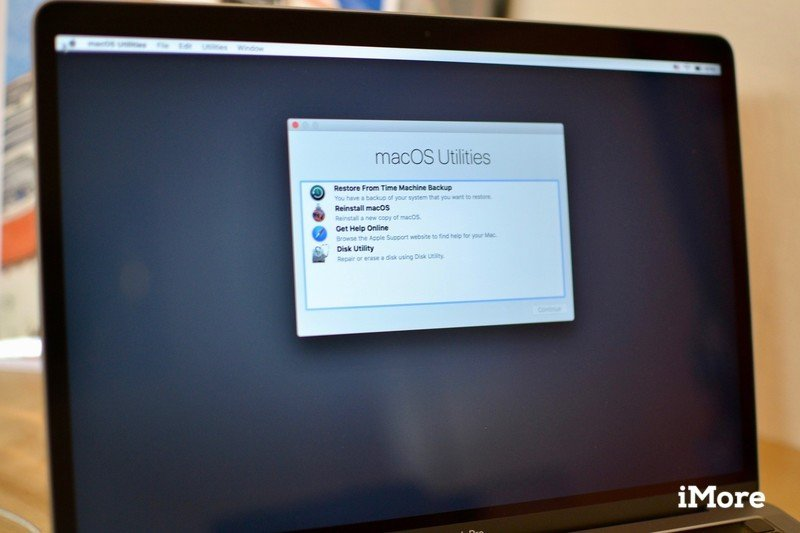 Restoring from backup on Mac