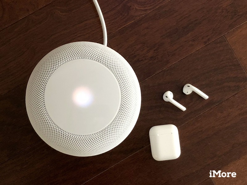 HomePod and AirPods