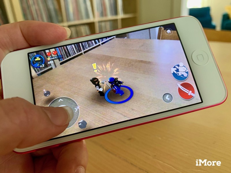 iPod touch 7 gaming