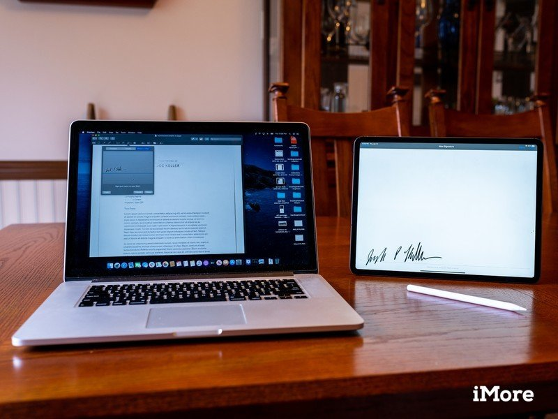 How to sign documents on your Mac with your iPhone or iPad
