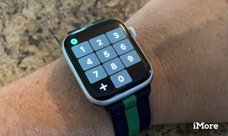 Numberpad on Apple Watch