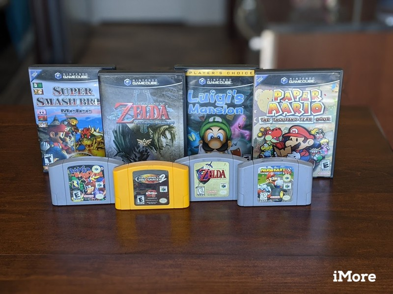 Gamecube And Nintendo 64 Games