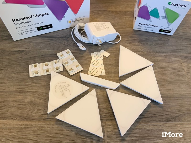 Nanoleaf Shapes Triangles Review Unboxing