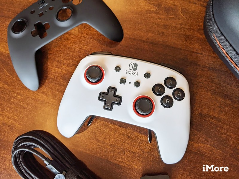 Powera Fusion Pro Controller White With Accessories