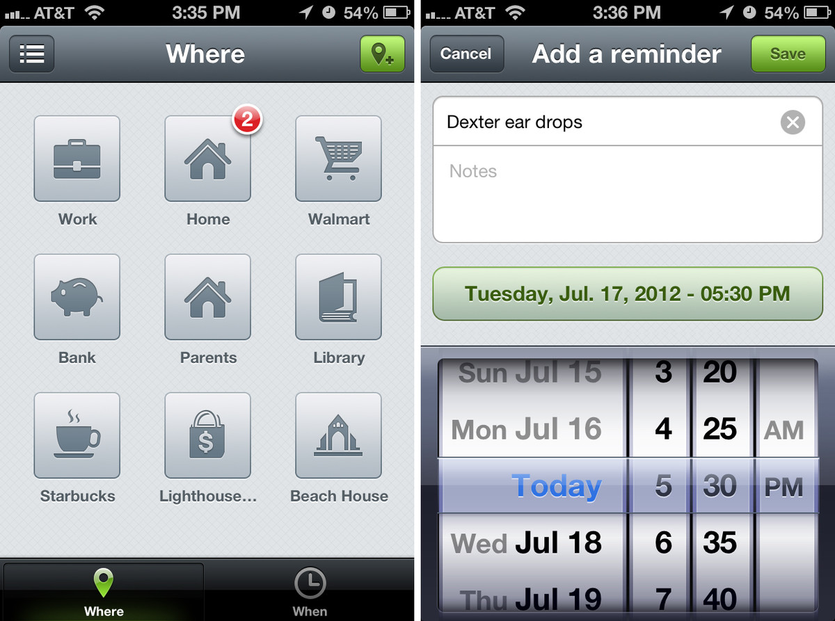 Checkmark for iPhone user interface