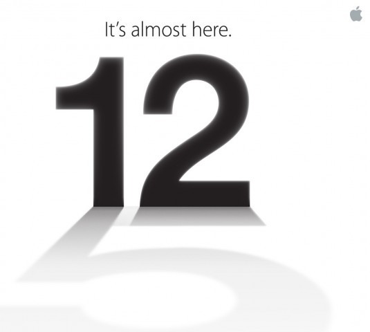 Apple announces iPhone 5 event for September 12