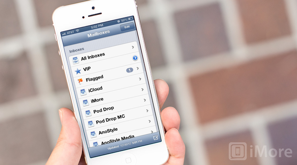 How to flag an email message on iPhone and iPad