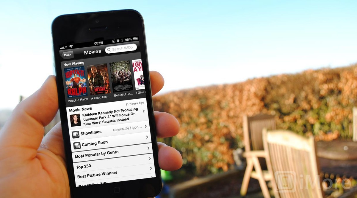 IMDB for iOS adds movie ticket purchasing
