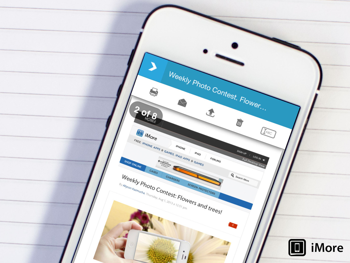 URL2PDF lets you turn any web page into a PDF within seconds straight from your iPhone or iPad