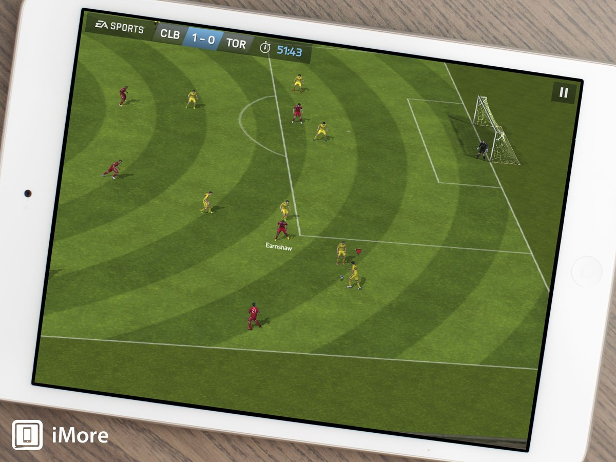 FIFA 14 brings the 2014 soccer season to iOS