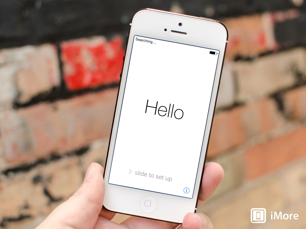 How to set up and start using your new iPhone 5s, iPhone 5c, or iPhone 4s