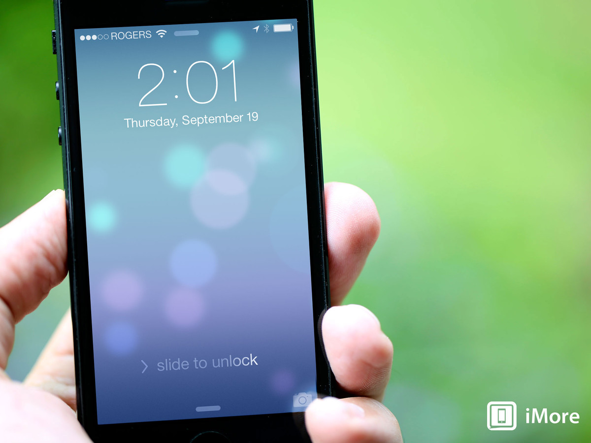 how to use the lock screen on iphone or ipad the ultimate guide imore. Black Bedroom Furniture Sets. Home Design Ideas