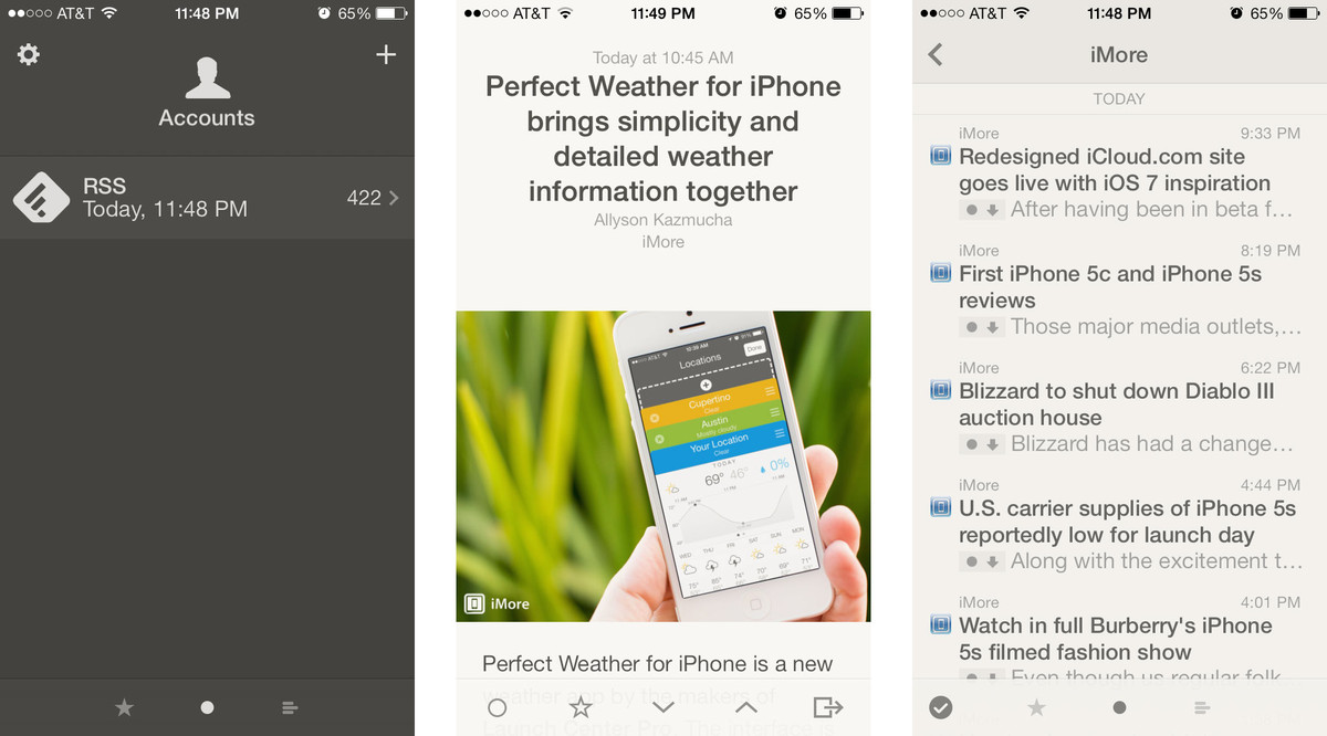 Best news apps for iPhone: Reeder 2