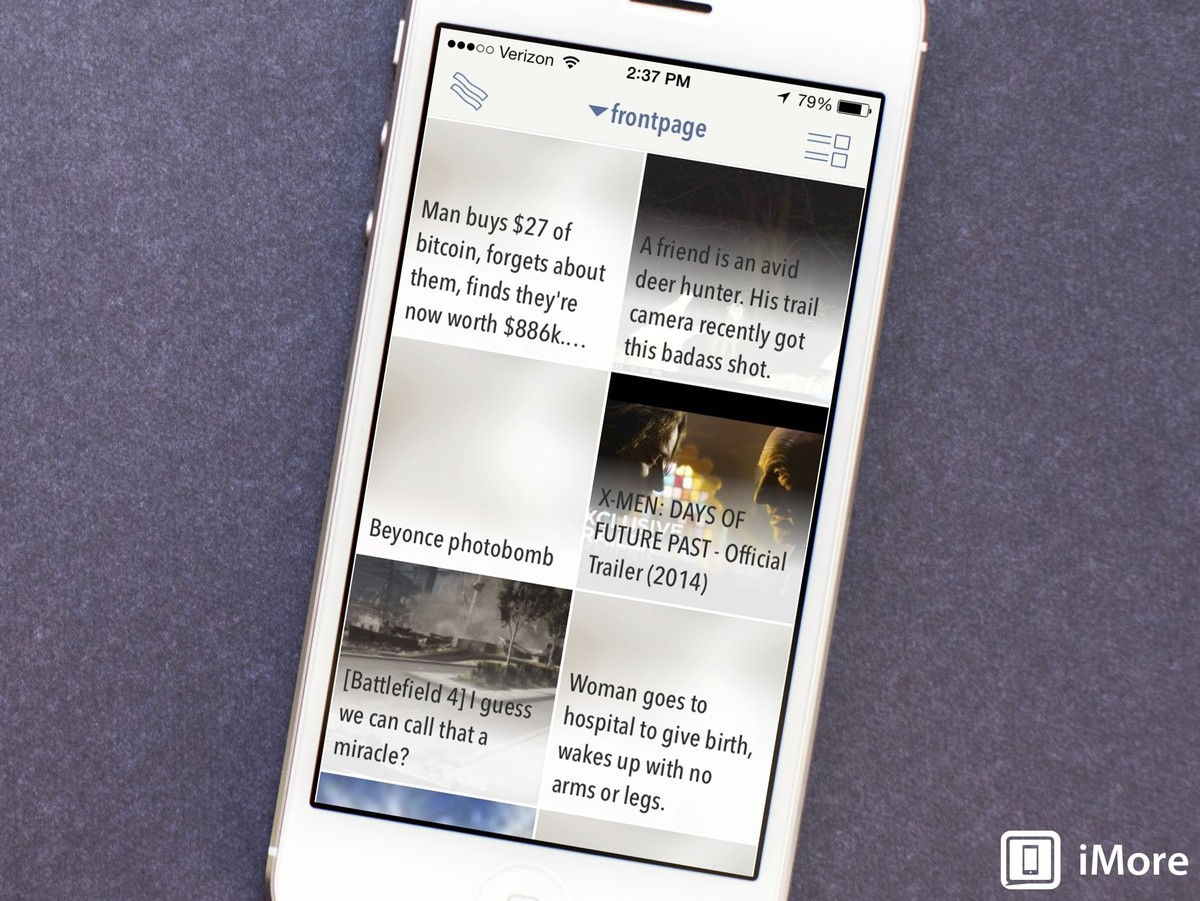 Popular Reddit app BaconReader makes its way to the iPhone