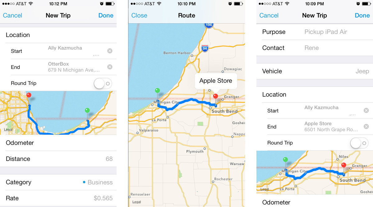Best mileage tracking apps for iPhone: Mileage Log+, Auto Miles ...