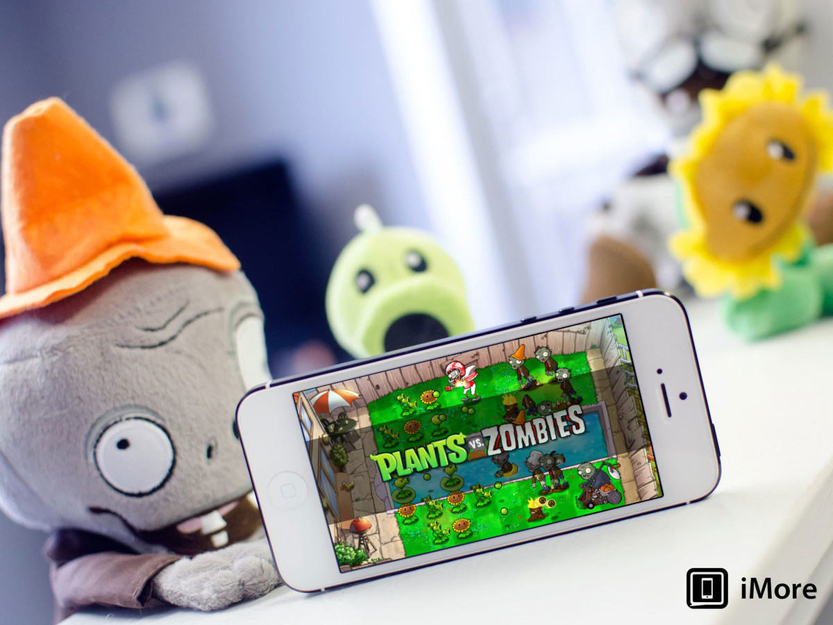 Original Plants vs. Zombies game finally gets updated to support the iPhone 5, and obviously the iPhone 5s