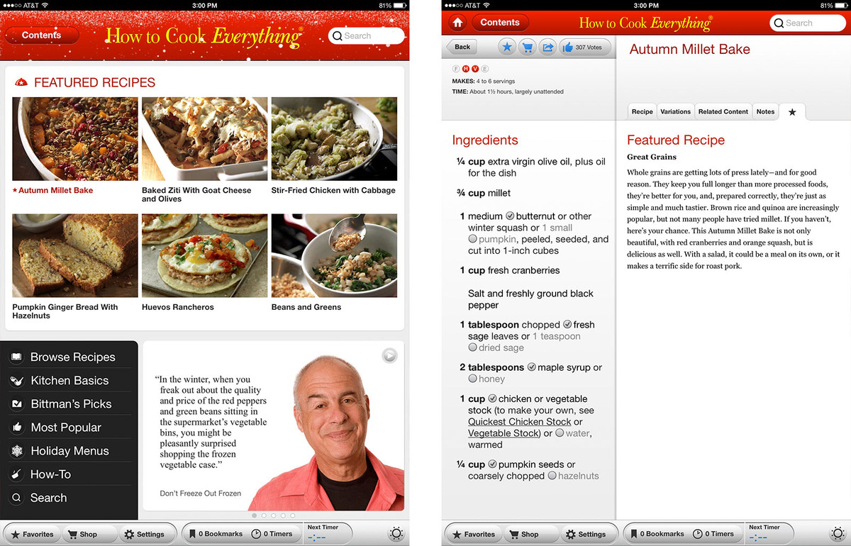 Best recipe and cooking apps for iPad: How to cook everything for iPad
