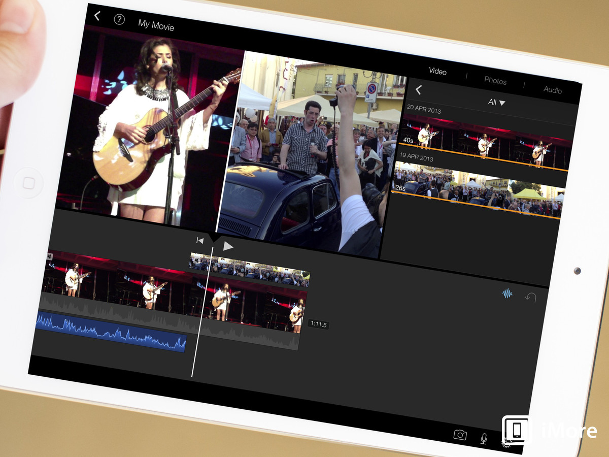 Apple Has Recently Made Some Pretty Big Changes When Ites To Its Imovie  Application For Ios It Recently Got An Overhaul For Ios 7, But Perhaps  More