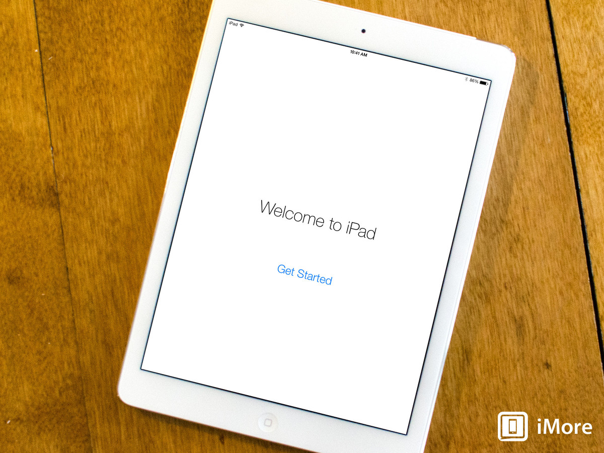 How to set up and start using your new iPad Air or Retina iPad mini