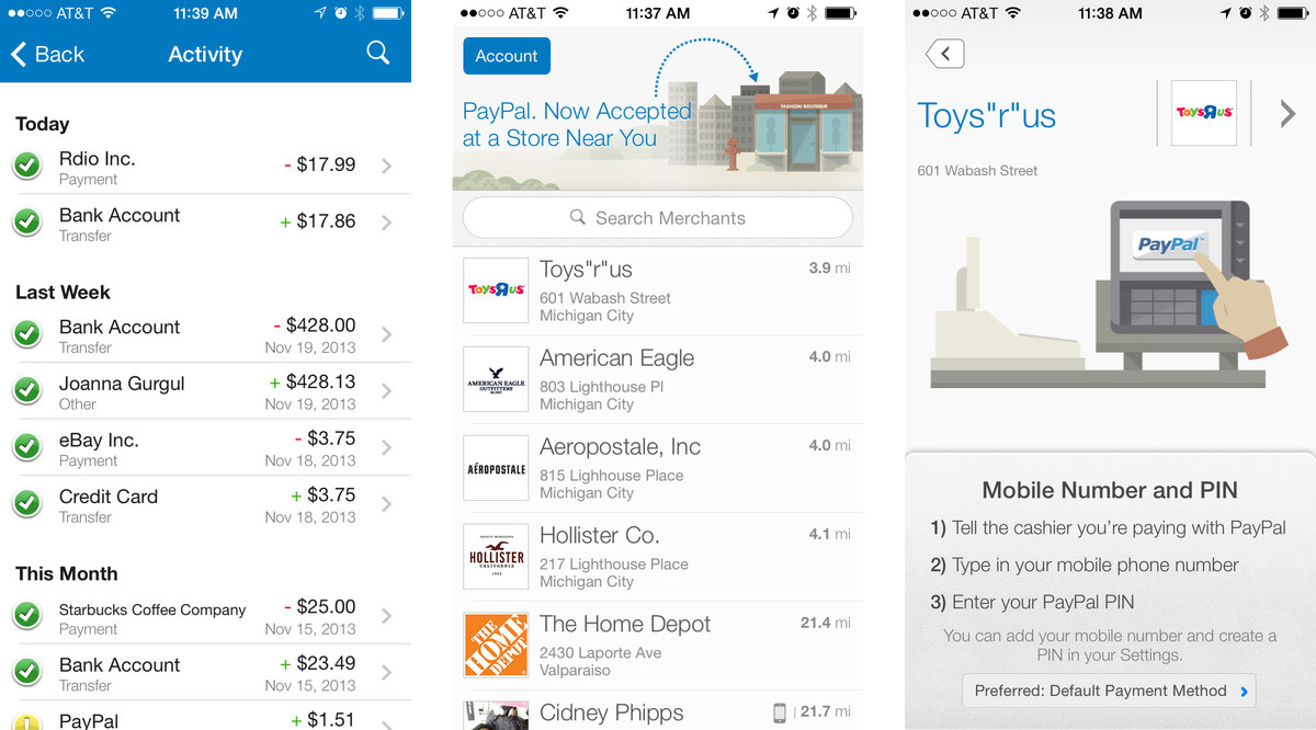 Best iPhone apps for Black Friday and Cyber Monday shopping: Paypal