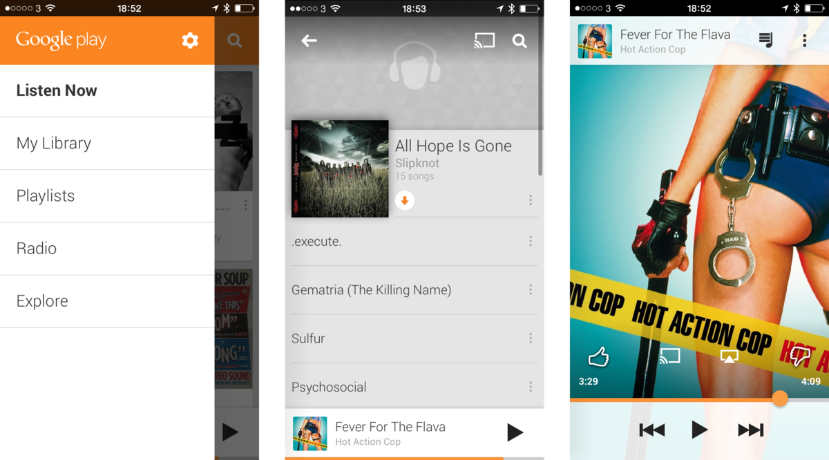 Google Play Music receives new UI and smarter playlists